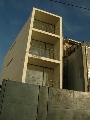 The P House Studio MK 27 drei wohnetagen untergeschoss garage